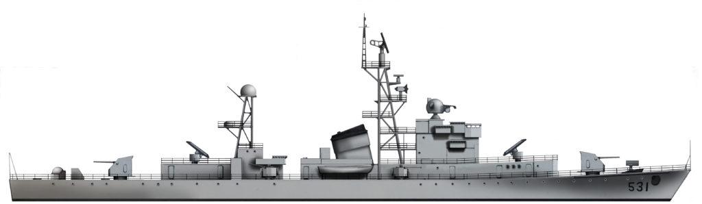Profile Jiangdong class Type 053K