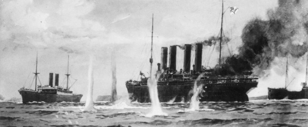 Kronprinz Wilhelm postcard