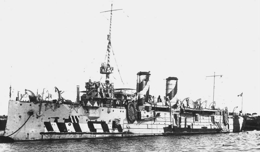 Cruiser Marco Polo, 1918