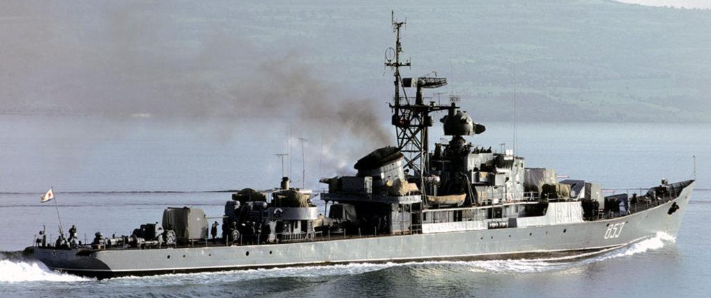 Riga Class Soviet Cold War Asw Frigates  1952