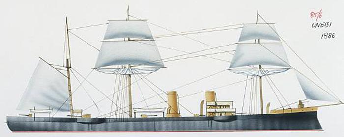 Illustration of the Unebi
