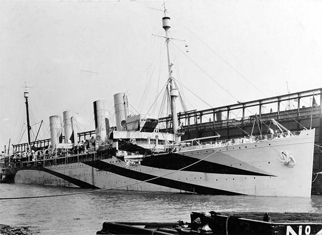 Kronprinz as USS Von Steuben, 1917