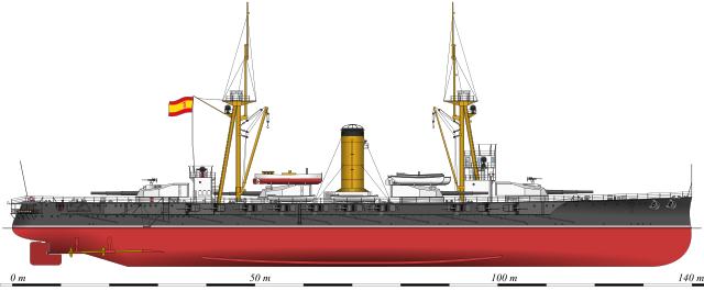 Battleship Espana 1913