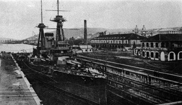 Battleship_España_Ferrol_1913