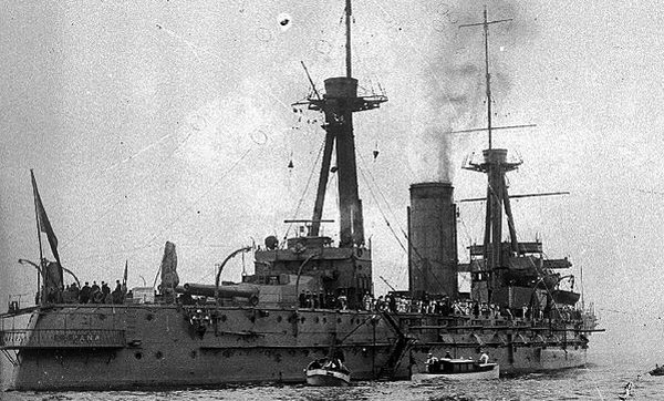 Battleship_España_stern