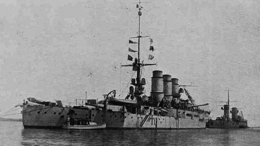 Battleship Roma in 1912