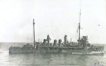 Bramble class HMS Thistle in Africa