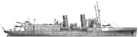 Author's profile of the HMS Vindex