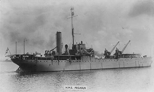HMS Ark Royal in the interwar years