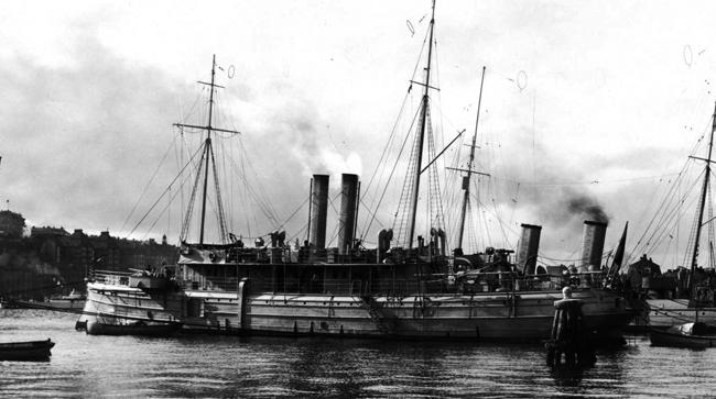 Blenda in 1918