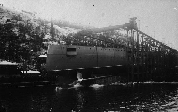 Fylgia launch 1905