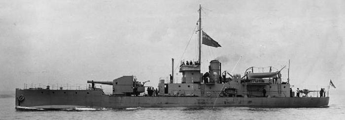 Coastal Monitor HMS M28