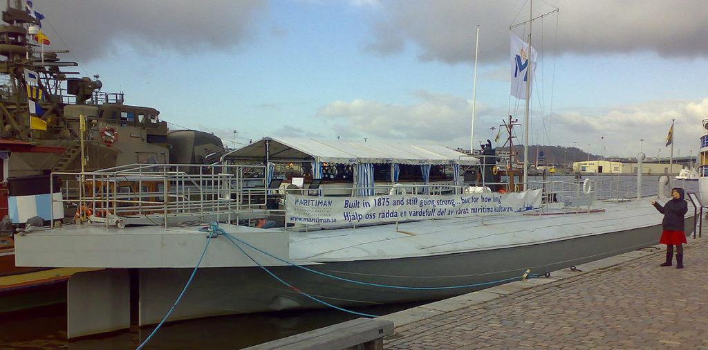 HMS Sölve as preserved in Gothenburg