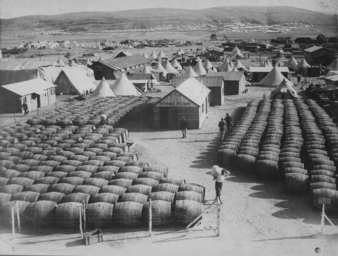 Mudros camp