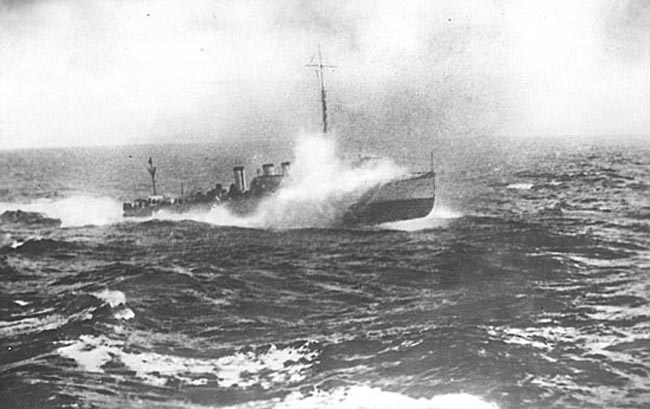 Ragnar at sea