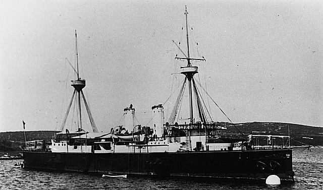 SMS_Kaiser_Franz_Joseph_I_anchored
