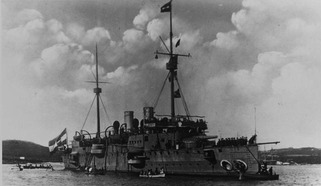 SMS Kaiserin Elisabeth 1901