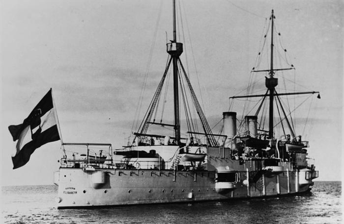SMS Kaiserin Elisabeth stern