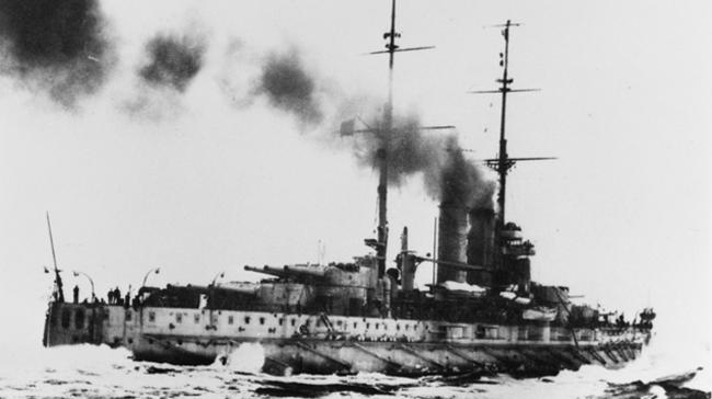SMS Prinz Eugen on trials
