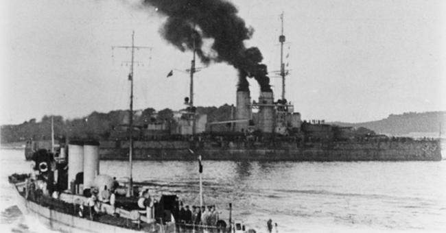 Szent Istvan in 1915