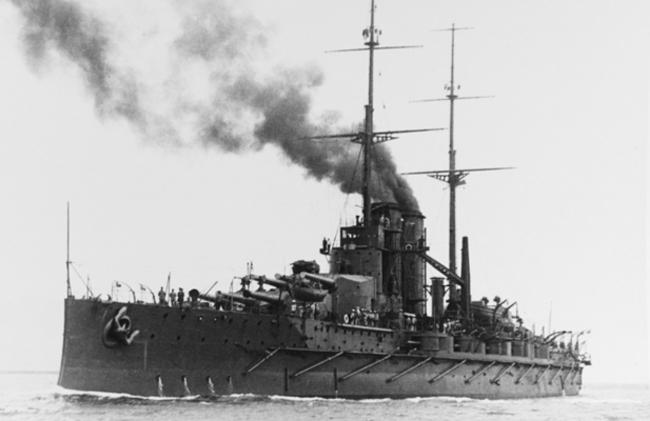 SMS Viribus Unitis in 1912