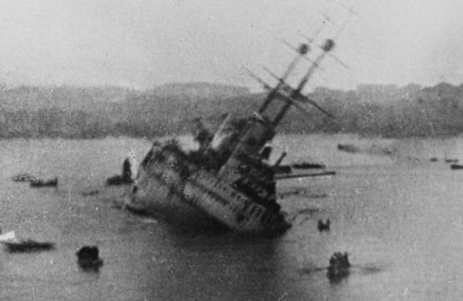 SMS_Viribus_Unitis_Sinking
