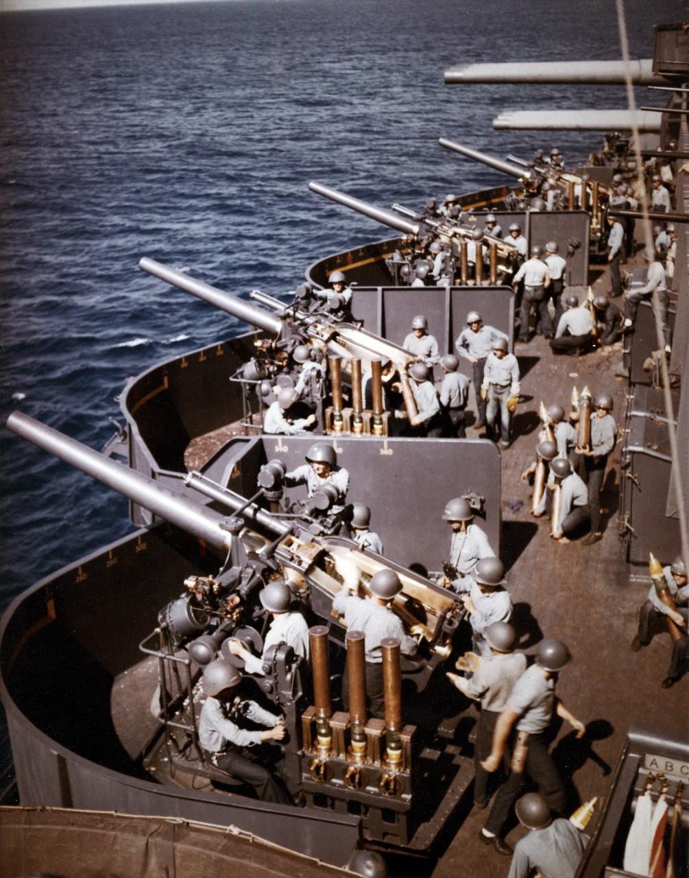 AA artillery