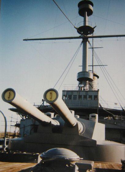 Battleship Mikasa as preserved