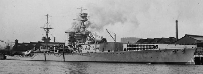 1917 conversion of HMS Furious