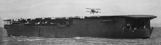 IJN Hosho off Shanghai in 1937