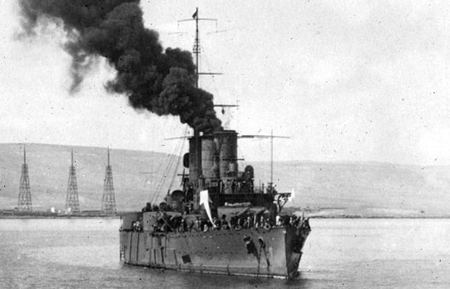 Pisa off Derna 1912