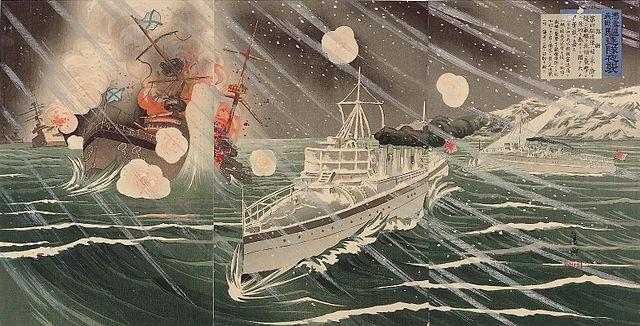 attack night 1904