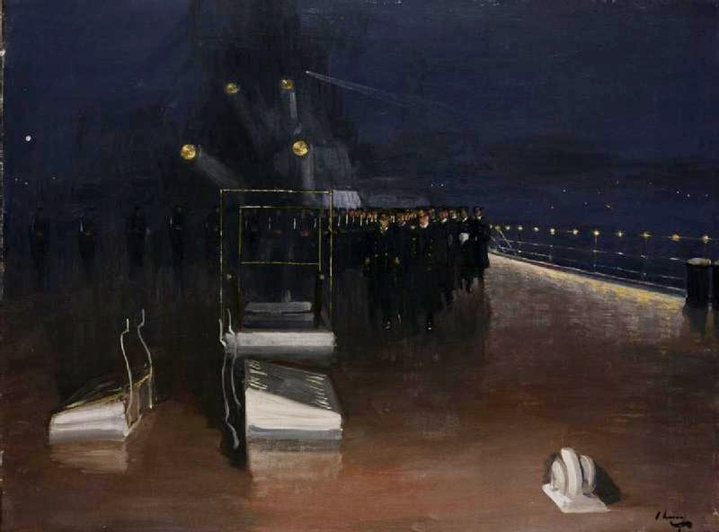 German delegates hochseeflotte