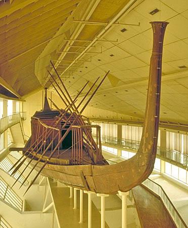 Kheops funerary boat