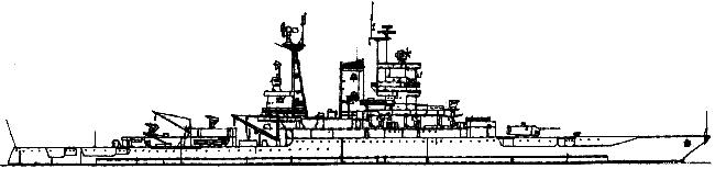 Mississhippi 1955 Terrier SAM cruiser
