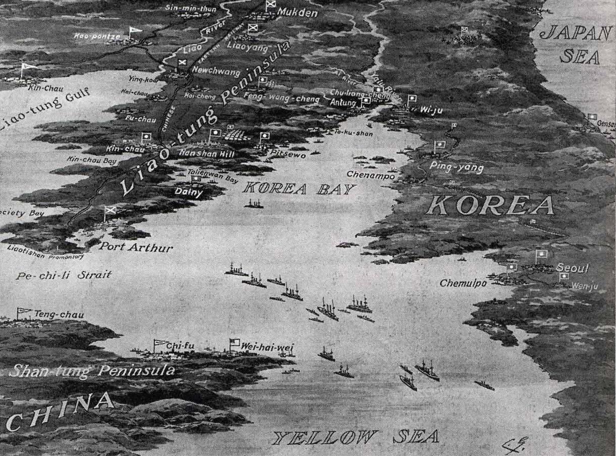 Battle Yellow sea 1904