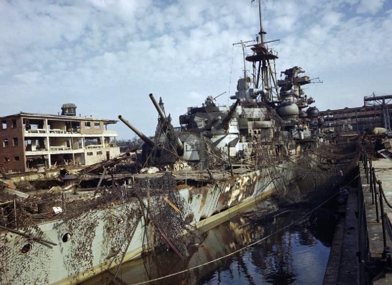 Admiral Hipper Kiel 1945