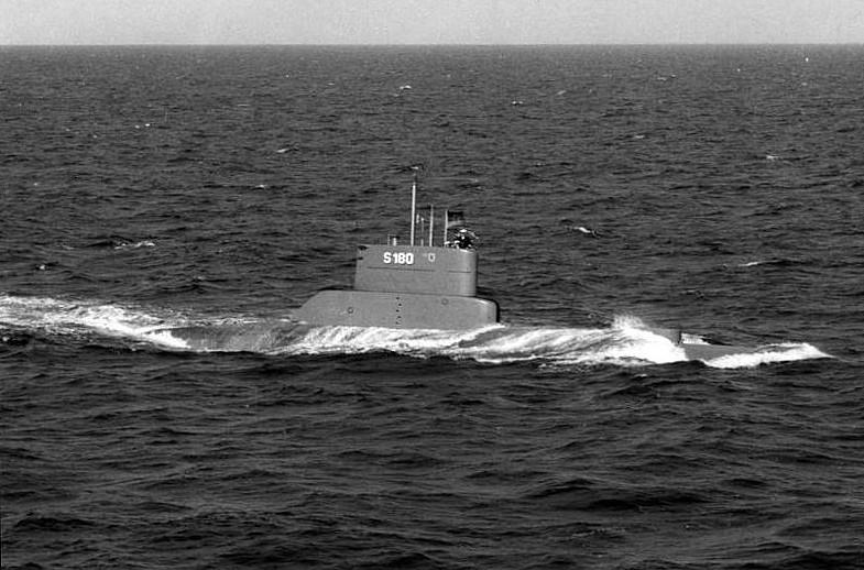 type 205 UBoat