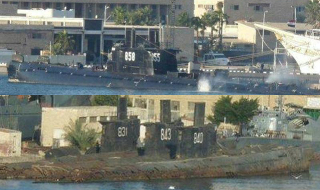Egyptian ES5A Romeo submarine