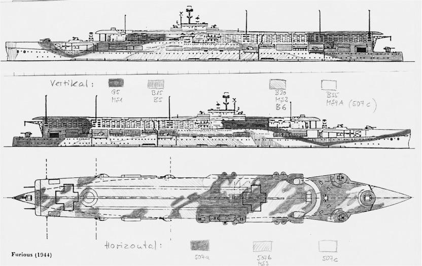 Camouflage scheme in 1942