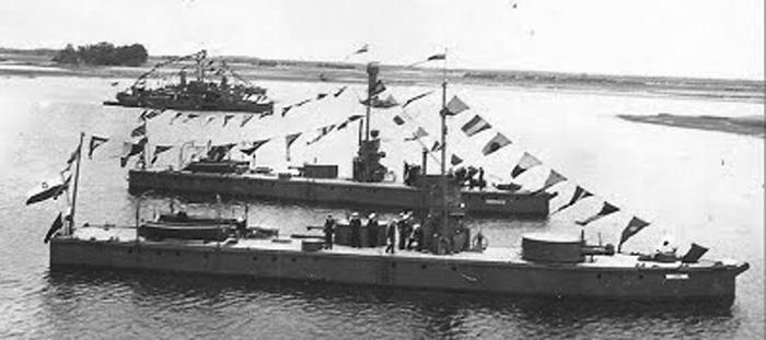 Monitors of the Warsawa class