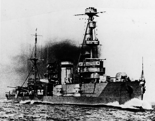 Soviet cruiser Profintern during WW2
