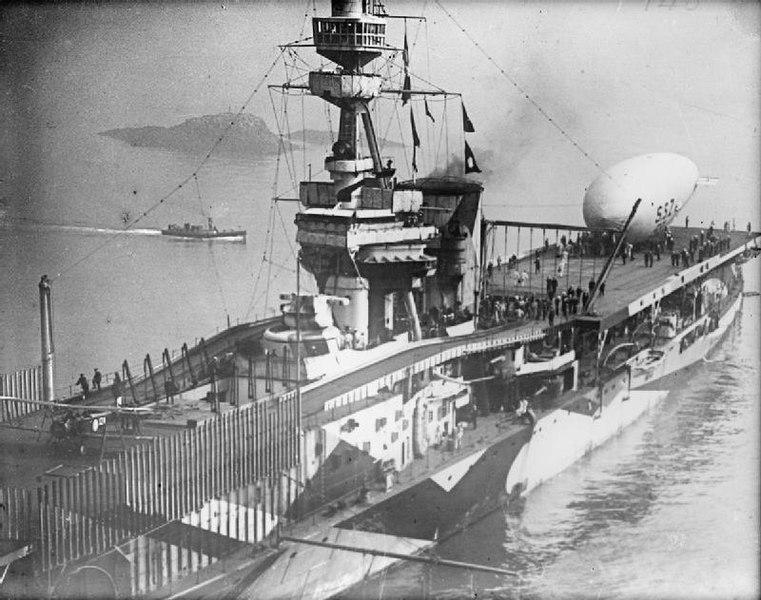 HMS Furious 1918