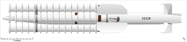 Sea Slug Missiles