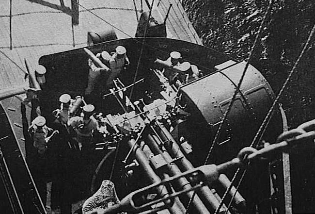 127 mm IJN mounts