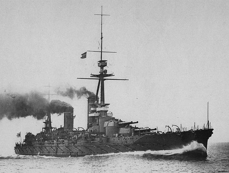 IJN Fuso in 1915