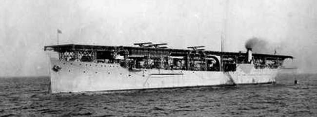 USS Langley britannica
