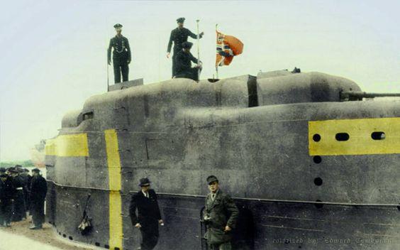 U3034 Kiosk in 1945
