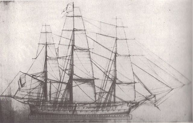 USS Columbus Master Sailmaker Plan