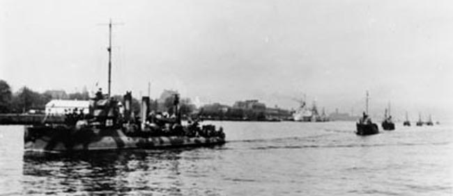 Havkatten May 1945